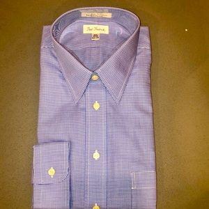 *NWT* Paul Fredrick Long Sleeve Dress shirt
